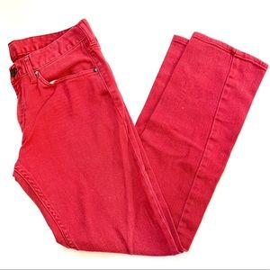 🌸🌵🌼Bullhead | Red Billion Skinny Jeans 32x30
